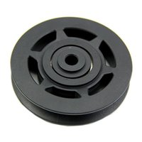 Wholesale Good deal mm Black Bearing Pulley Wheel Cable Gym Equipment Part Wearproof