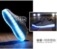 amazing lovers - 2016 Amazing LED Shoes USB Charging Colorful LED Lights Glowing Shoes Fluorescent Leisure Causal Shoes Lovers Luminous