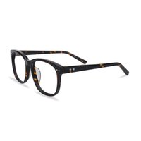 Wholesale Unisex Acetate Full rim Eyeglasses Frame Square Spectacles Men s Lady s Vintage Optical frame