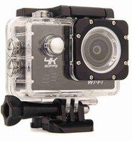 Wholesale 4K Action camera F60 Allwinner V3 K fps P fps P fps WiFi quot D Helmet Cam underwater go waterproof pro camera