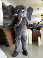 adult elephant costumes - Elephant Mascot Costume Cartoon Character Party Clothing Elephant Costumes Fancy Dress Adult Size Clothing