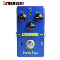 Wholesale Aural Dream Purely fuzz Electric guitar effects Pedal copy Mad Professor Fire Red Fuzz True Bypass