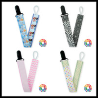 Wholesale 06 New Design Customized Plastic Pacifier Clip High Quality Personalized Pacifier Clip Cartoon Printed Pacifier Clip