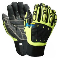 Wholesale Anti Vibration Safety Glove Vibration and Shock Resistant Glove Anti Impact Mechanics Work Glove