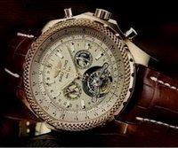 bentley sport - 2016 breitling new Tourbillon Sport Watches Men Bentley Mechanical Hand Wind Men s Wrist Watches Military Army Watch bnl