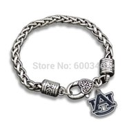 auburn jewelry - 2015 High Quality Stylish Auburn Tigers Pendants Bracelets Jewelry