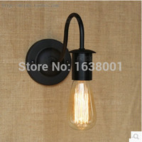 Wholesale Retro Iron Wall Sconce Lamp European and American Country Simplicity Living Room Hallway Bedside Decorative Wall Lamp