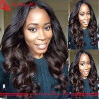 Wholesale Best Lace Wigs Glueless Body Wave Brazilian Full Lace Wig Bleached Knots Full Lace Human Hair Wigs For Black Women On Sale