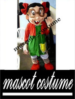 Wholesale la chilindrina Mascot Costume Hot Cartoon Character El Chavo Del Ocho Theme Anime cosply Dress Carnival Mascotte Fancy Kits