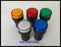 ac dc mixes - Mixed group of AC DC24V mm Diameter AD16 LED Power Indicator Signal Light Lamp Used For AC and DC