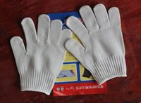 Wholesale Free DHL Cut Resistant Gloves Breathable Safty Gloves High Performance Level For Hand Protection And Yard Work Kitchen Glove E803E