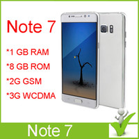 Wholesale Note clone phone Android smartphone inch MTK6582 Quad core note7 cellphones GB RAM GB ROM false g lte