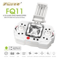 armed helicopter - FQ777 FQ11 Wifi FPV With Foldable Arm D Mini G CH Axis Headless Mode One Key Return RC Quadcopter Helicopter RTF