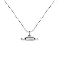 La plata de la antigüedad de la aleación del cinc del Locket del rodillo de 100pcs / lot plateó los collares pendientes de la cadena de la bola para la joyería de la cocina (A121676)