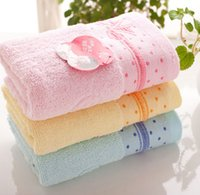 baby washcloth flowers - Hot Household Towel floating flowers Bowknot Cotton Face Cloth Comfortsoft Absorbent Washcloth Brand New Good Quality