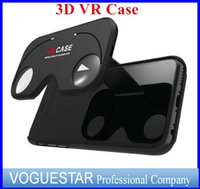 aspheric optics - VR D Glasses Case seeing Hybrid ABS and PC Virtual Reality Lens Cover for iPhone s Plus Figment Aspheric optics DHL free
