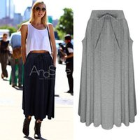 Wholesale long skirt for women The spring of New Europe Europe lace bow skirt dress skirt thin all match dress