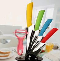 acrylic knife stand - kitchen tools knife ceramic knife set quot quot quot quot inch peeler Transparent Acrylic Stand