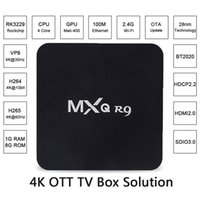 1GB ads hdmi - MXQ R9 network player AD k nuclear TV set top box rk3229 kodi K OTT TV BOX SOLUTION