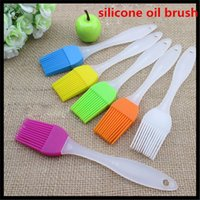 Wholesale Fashion New Home Kitchen Cooking Tool Silicone Oil Brush BBQ Basting Brushes Merry Christmas