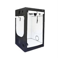Wholesale 60 PE white material indoor Hydroponics Grow Tent Greenhouse with