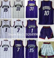 basketball jerseys toronto - Hot sale Toronto Men Vince Carter Tracy McGrady Kyle Lowry Demar DeRozan Terrence Ross Throwback Basketball Jersey
