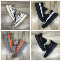 Wholesale 2016 New Boost V2 Kanye West SPLY Season Shoes Grey Orange Black White Athletic Running Sneaker Boosts For Women
