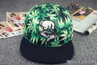 Wholesale Summer Style Caps Girls hats Snapbacks Finger Leaf Baseball Caps Hip Hop Gorra Boina Hoquei Toca Z00773