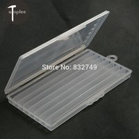 Wholesale Case Grid Semitransparent Storage Box for Sewing Blade Storage Tools Case
