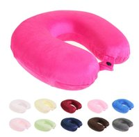 Wholesale Pillow U Shaped pillow colors Nursing Cushion pillows Memory Foam Pillow Soft comfortable drive travel