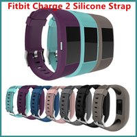 Wholesale New Design Silicone Band Fitbit Charge Replacement Band Starp Sport Bracelet Straps For Fitbit Charge Smart Watch VS Fitbit ALta Blaze