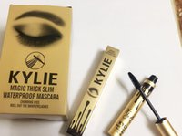 Wholesale 2016 hot High quality Kylie Mascara Magic thick slim waterproof mascara Black Eye Mascara Long Eyelash DHL free ship