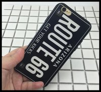 apples number - license plate iphone case TPU Plate Number Mobile Phone Cover For iPhone License plate Phone Case Cover popular case