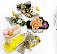 Wholesale 2016 New Pets Dogs Grooming Pet Hair Product Hair Accessories pet headdress flower