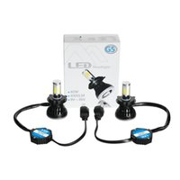 audi led headlamp - Car styling W LM K G5 Car LED H4 K Degree COB LED Headlamp Light Bulbs Kit