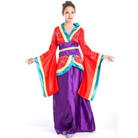 anime role playing - Sexy Japanese Anime Geisha Role Playing Costumes Japanese Cherry Blossom Kimono Halloween Masquerade Fantasy Disfraces Adultos A158667