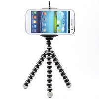Wholesale Picture Bipod Style Selfie Sticks Portable Adjustable Stand with Mount Holder for inch Cellphone Phone Holder Flexible Octopus Tripod