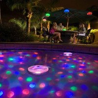 Wholesale Colored LED Floating Underwater Light Show Pool Hot Tub Spa Bathtub Led Light