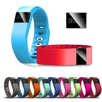 Wholesale TW64 smart wristbands Tw64 Smartband Smart bracelet Wristband Fitness tracker Bluetooth fitbit flex Watch for ios android Newest