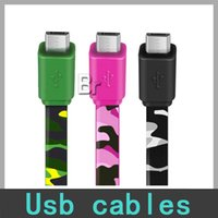 android mobile printing - Micro usb Cable camouflage cable android printing fast charging the mobile phone line For Samsung Galaxy S5 I9600 HTC