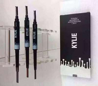 Wholesale Stocking Makeup Kylie Eye Brow Waterproof Eyebrow Pencil Double Ended With Brush in Brow Pencil KYLIE Jenner Color