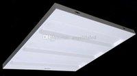 Панель решетки Цены-Бесплатная доставка 600x600mm Grille лампы 36W 48W LED решетка свет 6060 водить потолочное освещение высокого качества офиса панель светодиодное освещение
