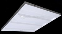 Wholesale x600mm Grille Lamps W W LED grille light led Ceiling Light High quality Office panel led lighting