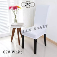 Wholesale Shipping Free PC Chair Cover Dining Room Cheap Spandex Lycra Banquet Chair Covers Cap for Hotel Restaurant China Chair Covers
