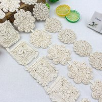 Wholesale Lace Ribbon Clothing cotton rope embroidery Wide skirt lace accessories Sofa bed curtain cloth art adornment DIY Garment Accessories