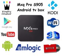 b google - MXQ Pro Amlogic S905 k TV Box Firmware Updated Online Android Amlogic S905 Quad core Streaming TV Box support a b g n Wi Fi