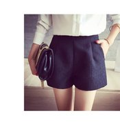 Wholesale 2016 summer new Korean thin size A all match loose waisted wide leg pants casual shorts female
