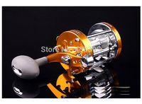 Wholesale 1pc size70 Long casting fishing reel Trolling fishing reel Right handle Left handle Fishing Reels