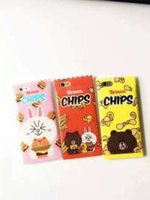 apples hamburg - 2016 creative cartoon yellow chips Hamburg Brown bear candy packaging iPhone6sp mobile phone shell all fall protection sets DHL shipping