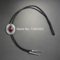 american southwest - Western American Southwest Pattern Oval Bolo Tie Per Tie Clips amp Cufflinks